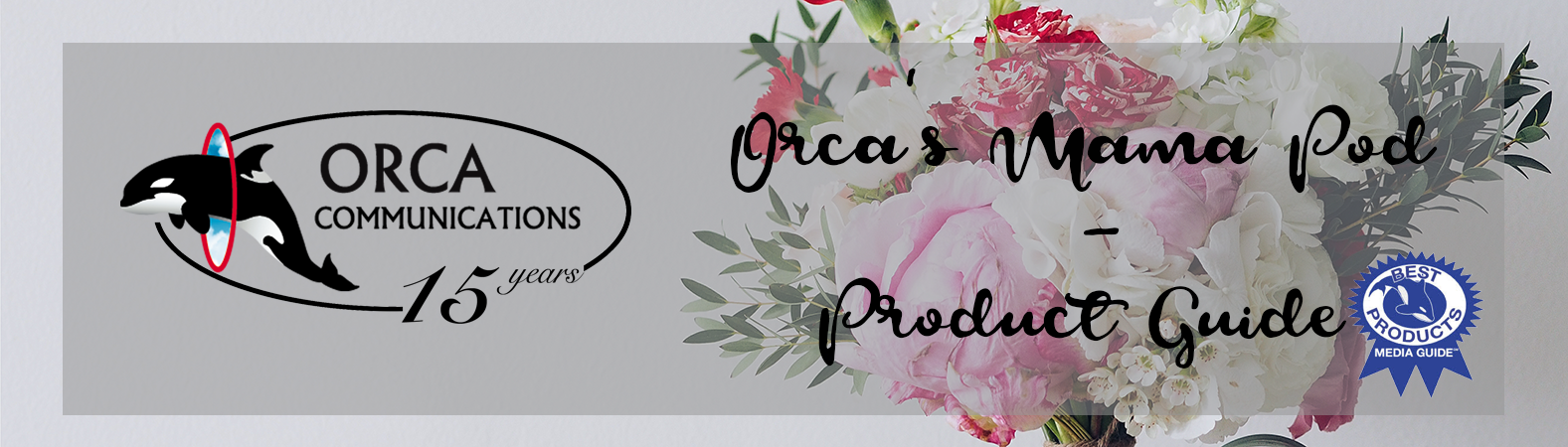 Orca mother's day product guide banner